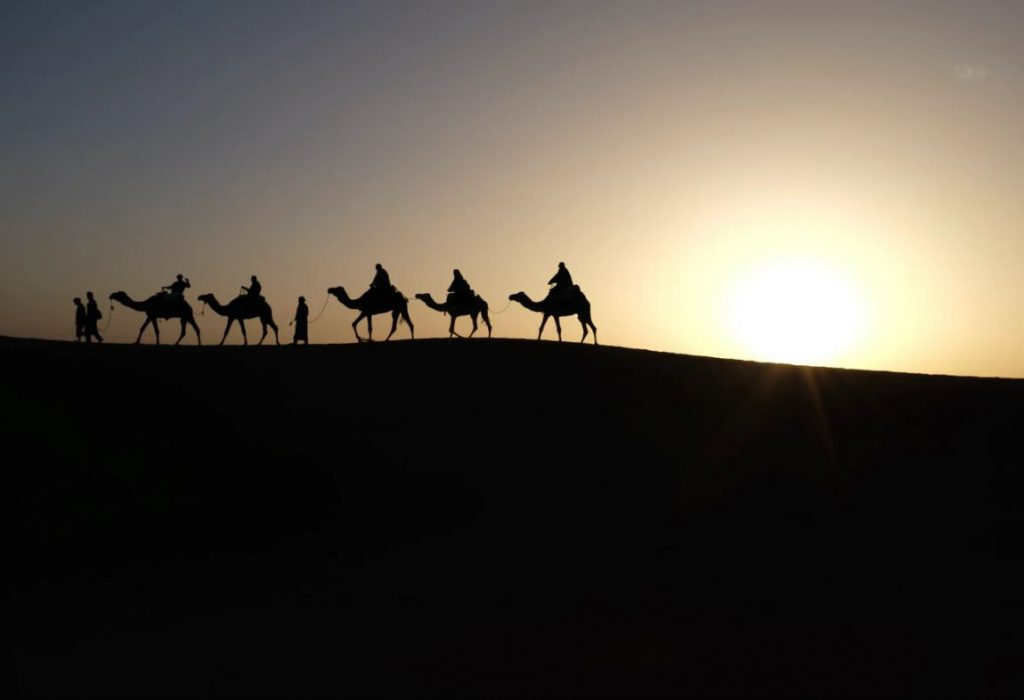 camping desert environnement protection